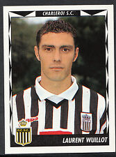 Panini Belgian Football 1999 Sticker - No 108 - Charleroi - Laurent Wuillot