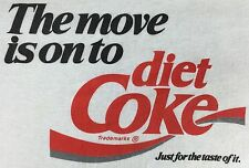 True Vintage 80s Diet Coke Coca Cola Soda Logo White Graphic T-Shirt L Large