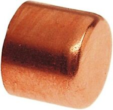 "Plumbing Copper Fitting End Cap 1"" diameter Box of 10"