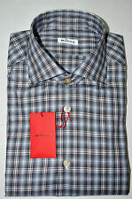 NEW 2016 KITON SHIRT 100% COTTON  16 US 41 EU 571311