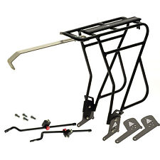 NEW Axiom Journey Uni-Fit Mk 3 Rear Alu Pannier Rack for DISK or rim brake bike