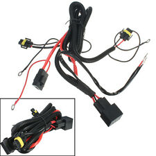 H11 LED/HID/FOG SPOT WORK DRIVING LIGHT WIRING LOOM HARNESS SWITCH RELAY