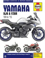 Yamaha XJ6 & FZ6R 2009 to 2015 Haynes Manual 5889 NEW
