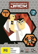 Samurai Jack Season 1 R4 DVD NEW
