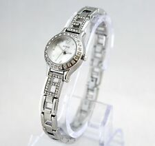 NEW Guess W0411L1 Mini Inspired Crystals Dial Silver Stainless Steel Women Watch