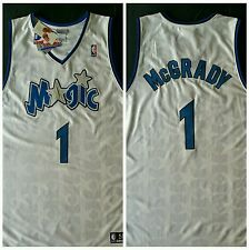 NEW McGrady #1 Orlando Magic Authentic Pro NBA Basketball Jersey Sewn Reebok 56
