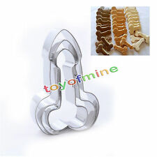 3pcs Stainless Willy Penis Cookie Cutter Mould Baking Biscuit Fondant Cake Mold
