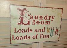 Laundry Room, Tin metal Sign, Wall Decor, Fun Sign, Home Decor, Laundry Room Dec