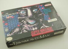 Super Nintendo SNES - Lawnmower Man - Brand New Factory Sealed