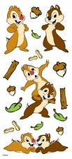 Disney CHIP and DALE Scrapbook Stickers