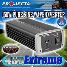 PROJECTA IP150 12V TO 240V 150WATT PURE SINE WAVE POWER INVERTER 12 VOLT LAPTOP