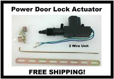 Black Widow Automotive Door Lock Actuator 12 Volt DC Solenoid  2 Wire Universal