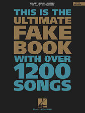 The Ultimate Fake Book – 4th Edition