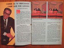 May 12, 1963 Washington Sunday Star TV Mag(ALLEN  LUDDEN/PATTI PAGE/JEANNE BAIRD
