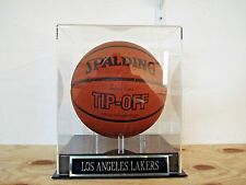 Basketball Display Case For Your Los Angeles Lakers Team Autographed Basketball