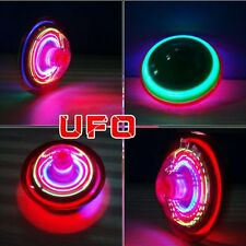 Flash LED Light Laser Color Music Gyro Peg-Top Spinner Spinning Kid Children Toy