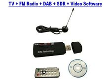 DVB-T USB 2.0 Stick Digital TV + FM RADIO  HDTV Tuner MPEG4  VISTA W7 W8.1 W10
