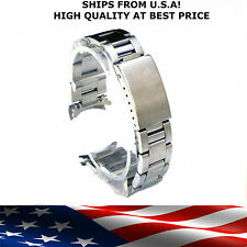 20mm Heavy Oyster Stainless Steel Watch Bracelet Band DATE for rolex