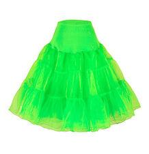 """25"""" Retro Underskirt/50s Swing Vintage Petticoat/Rockabilly Tutu/Fancy Net Skirt"""