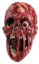 Screaming Corpse Mask Zombie Skull Fancy Dress Halloween Adult Costume Accessory
