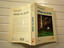 1991 RETOUR AU JARDIN DE SHAKTI GAWAIN CHEZ LE SOUFFLE D'OR AUTOBIOGRAPHI BROCHE