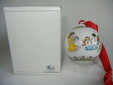 Hutschenreuther Weihnachtskugel Porzellan 1993 (meine Art-Nr. 1993-2)