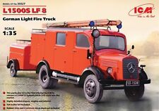 ICM 1/35 Mercedes L1500S LF 8 German Light Fire Truck # 35527