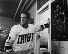 Paul Newman in Slapshot Hockey Charlestown Chiefs 8x10 Photo 009