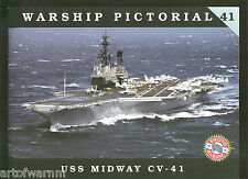 Warship Pictorial # 41  USS MIDWAY  CV-41  by Pete Clayton