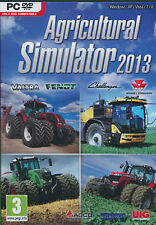 AGRICULTURAL SIMULATOR 2013 for PC XP/VISTA/7/8 SEALED NEW