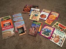 Homeschool lot Of 21 Ancient History Books: Egypt-China-Rome-Greece