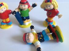 Cabbage Patch Kids Dorda Toys Skateboarding Rollerskating Figures 1997