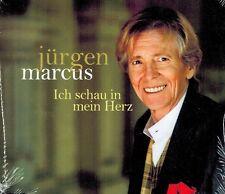 MUSIK-SINGLE-CD NEU/OVP - Jürgen Marcus - Ich schau in mein Herz