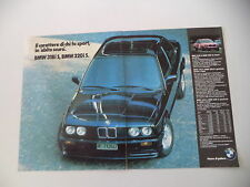 advertising Pubblicità 1986 BMW 318 is - 320 is