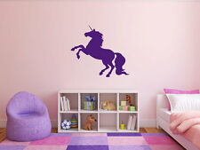 UNICORN Home Vinyl Wall Decal Bedroom Graphics Sticker Decor Mural Silhouette