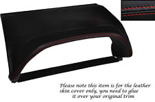 RED STITCHING SPEEDO HOOD SKIN COVER FITS NISSAN X-TRAIL 01-04 PRE FACELIFT