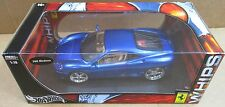 Hot Wheels Whips Customized Ferrari 360 Modena Blue Car Die Cast 1:18 Scale! NEW