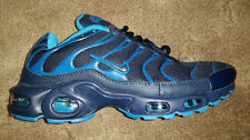 Nike Air Max TN Plus Navy Blue and Baby Blue Size 9.5 Athletic Sneakers