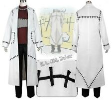 Popular Soul Eater Cosplay Franken Stein Doctor Costume Cosplay free shipping