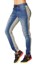 New/Tag Zumba Fitness Outfits Zumba Dynamic Denim Dance Pants Jeans Size S NWT