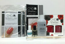 CND Shellac Perfect Pair (RubyRitz+ Wildfire)+Offly Remover+ Free mini RescueRxx