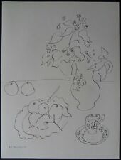 "Henri MATISSE : ""Nature morte aux fruits"" - LITHOGRAPHIE ORIGINALE SIGNEE RARE"