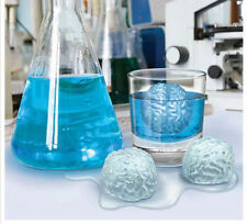 Brain Shape Silicone Whiskey Ice Cube Maker Mold Sphere Tray Round Bal Mouldl