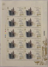 "1996 Hong Kong stamp set ""Hong Kong Urban Heritage"" in block of 10 Yang's Cat. S75"