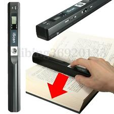 900 DPI Cordless Handheld Scanner HandyScan Portable A4 Book Photo File Document