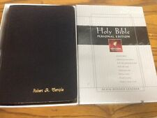 Holy Bible: New Living Translation, Personal Edition, Black Bonded Leather