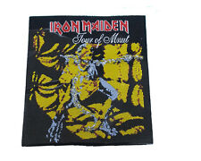 IRON MAIDEN Embroidered Rock Band Sew On Patch UK SELLER Patches