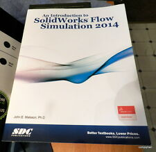 An Introduction to SolidWorks Flow Simulation 2014 by John Matsson Fast Shipped