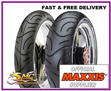 Hyosung GT125 GT 125 Comet Radial Motorcycle Tyre Pair Maxxis Supermaxx M-6029
