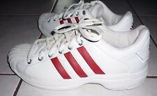 ADIDAS 2002 Torsion Vtg White/Red Mens 9.5 148591 NEW without Box! NOS Superstar
